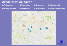 Dog Walker - Areas We Cover