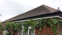 Concrete Gutter replaced