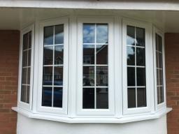 New five-part bay window in Ipswich