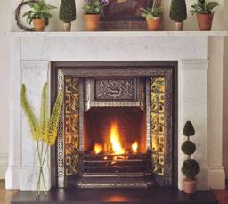 Charlotte marble fireplace surround