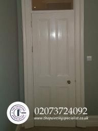 Painted Door in London