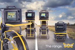 The Scanprobe range of push-rod drain cameras