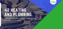 4D Heating and Plumbing Banner Images