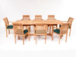 Teak Garden & Chair Dining Set