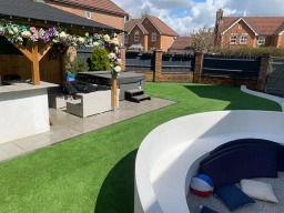 Artificial Grass Pool Surround