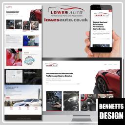 Lowes Auto Website Design