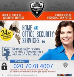 Anytime Locksmiths Finchley | 020 7078 4007