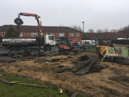 play park removal for local council