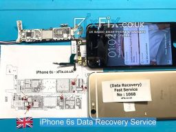 water damaged iphone 6s data recovery service