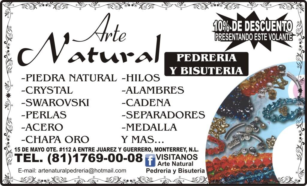 a2b71012110f ARTE NATURAL PEDRERIA Y BISUTERIA 15 DE MAYO   112A OTE