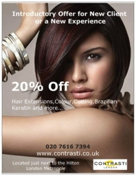 Hair Special Offer to all new clients