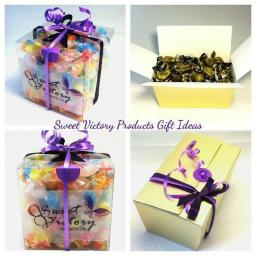 Sweet Victory Products - Sugar Free Sweets Gift Boxes. You Choose what to put inside.