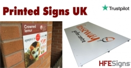 Printed Signs - Any Sizes - Wide Range of Material Choices