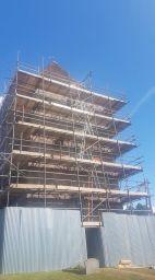 D & G Scaffolding for Church Repairs