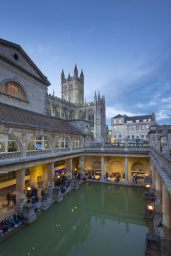 Wedding and event photography at the Roman Baths