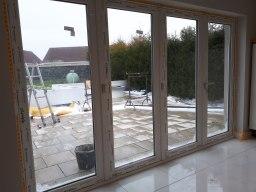 bi fold patio sliding doors repaired