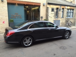 Mercedes S Class in stylish Black