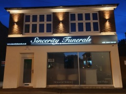 Sincerity Funerals Frontage