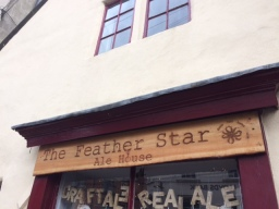 Bespoke Sign Created for Feather Star Pub