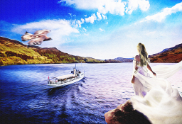 Loch Katrine illustration by G3 Creative