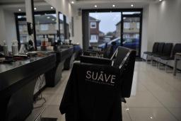 Salon Interior - SUAVE Barbers Peterborough