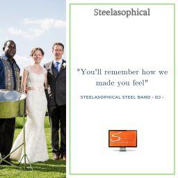 Steelasophical Steel Band Dj Service Weddings