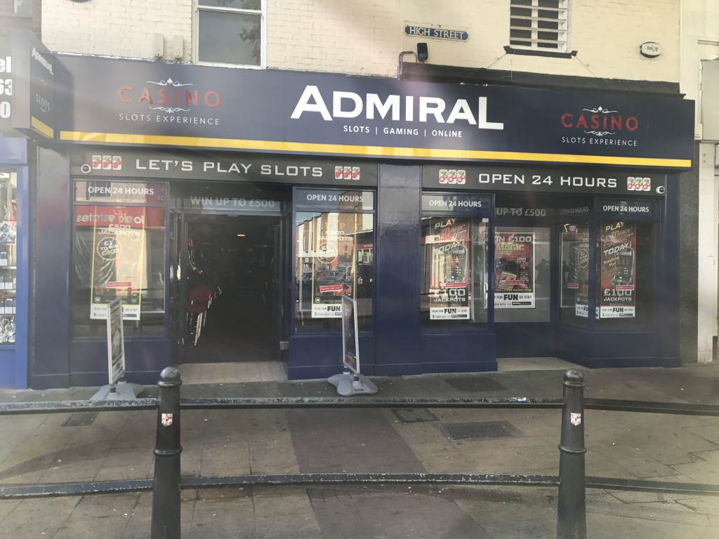 Admiral Casino Slots In 159 161 High Street Gillingham Kent Me7 1aq