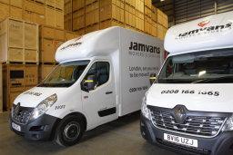 JamVans storage London