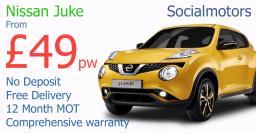 Nissan Juke finance