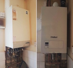 vaillant boiler installed in newcastle