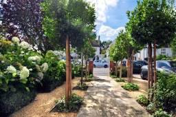 Front garden design, Dulwich
