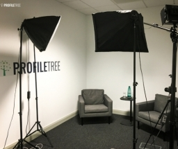 Video content and Youtube Studio at ProfileTree, at Innovation Factory, Belfast - Northern Ireland