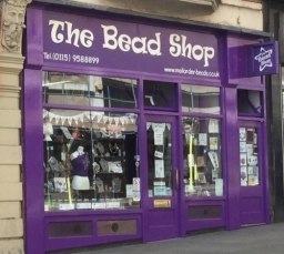 The Bead Shop Nottingham Outside On Market Street