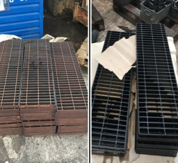 before and after chemical blacking