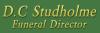D C Studholme Funeral Director