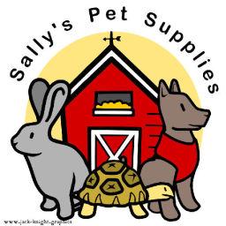 Sally's Pet Supplies Logo