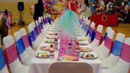 Princess and Superhero themed tables
