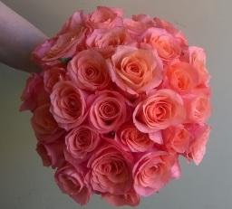 Rose Wedding Bouquet by Flower Design, Ripon
