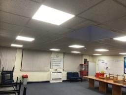 Lighting in School Staff Room After