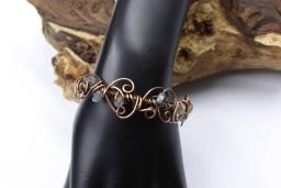 Labradorite Copper Bracelet.