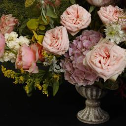 Urn , wedding table centrepiece