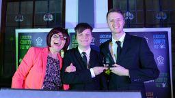 Crosscut Media winning Leicester Comedy Award