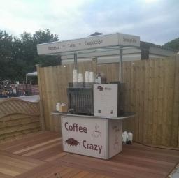 contemporary coffee cart