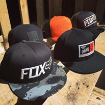 Fox Motocross hats and caps