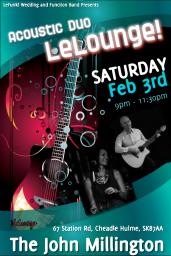 Acoustic Duo - LeLounge!
