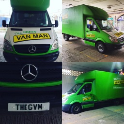 The green van man Removals gateshead