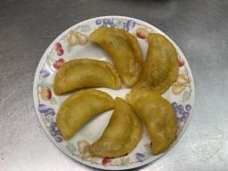 Crispy Prawn Dumplings on a plate