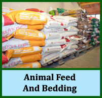 animal feed, animal bedding, pet food