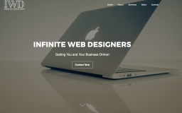 Infinite Web Designers Front Page