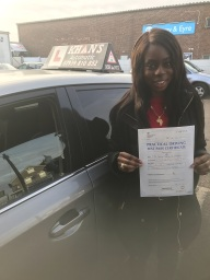 Passed 1st time in Croydon